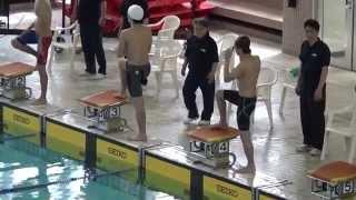 100m平泳ぎ 28-99 1-00-59(31-60)