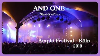 And One - Shouts of Joy (Live@Amphi 2018)