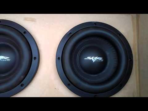 SKAR MA-8 Hifonics 1000D Vid 1