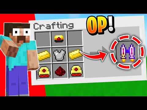 5 EPIC Crafting Recipes YOU DON'T KNOW In Minecraft 1.16!