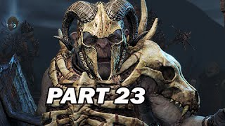 Middle Earth Shadow of Mordor Walkthrough Part 23 - Bolg Corpse Eater (PC 1080p Gameplay)