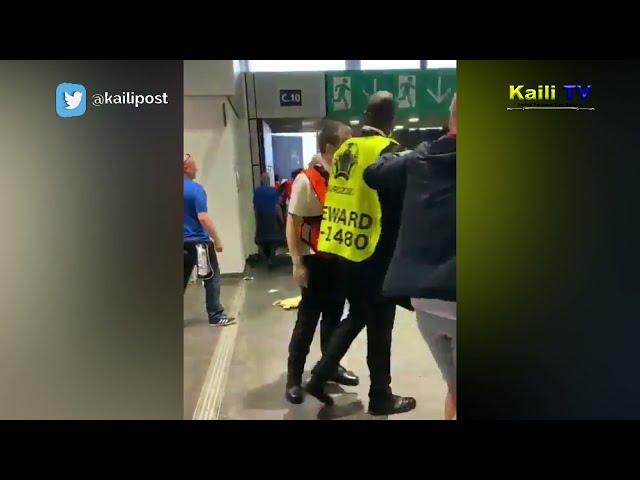 Tak Terima Kekalahan, Oknum Suporter Inggris Serang Fans Italia Usai Final Euro 2020