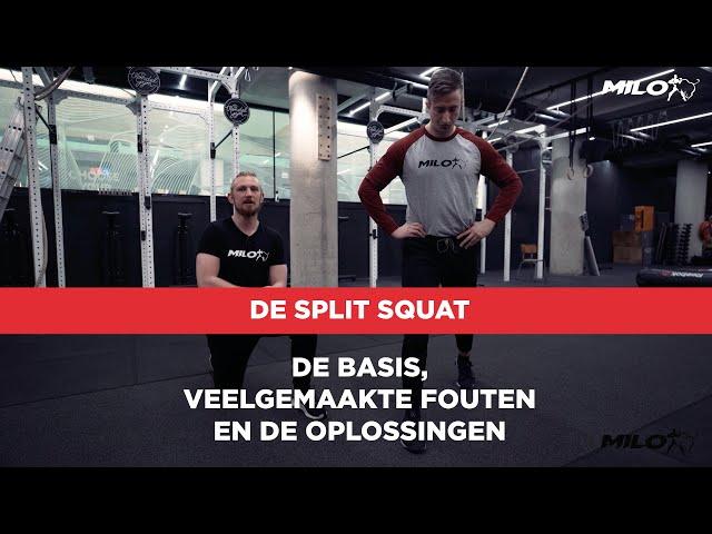 Split Squat; de basis, veelgemaakte fouten en de oplossingen