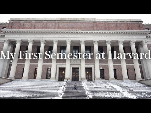 My First Semester at Harvard