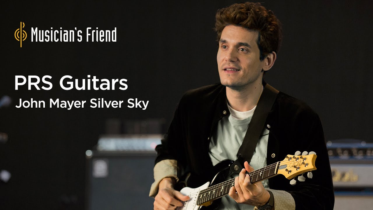 John Mayer Prs Silver Sky Demo Mostly Playing A Little