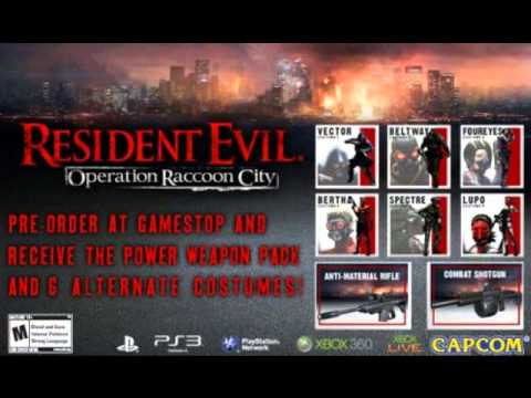 Resident Evil Operation Raccoon City Gamestop