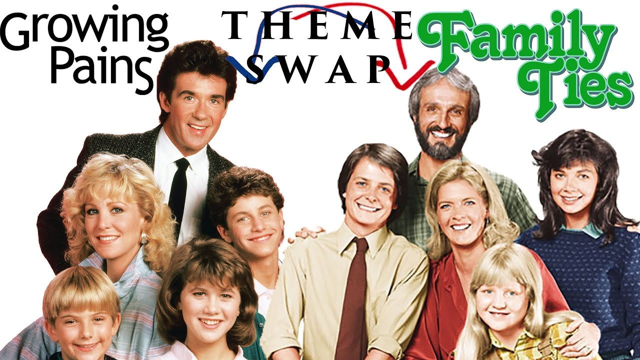 THEME SWAP: Growing Pains/Family Ties - YouTube