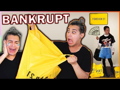 FOREVER 21 BANKRUPTCY SALE HAUL Everything $1 or $5 OMG