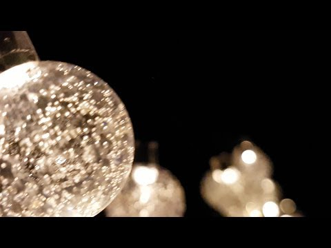 Unboxing ANNT LED Solar String Lights Outdoor 20ft Starry Crystal Ball