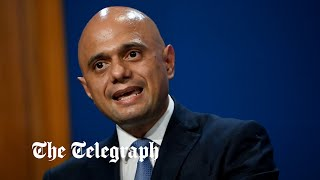 video: Politics latest news: Sajid Javid to update nation on booster vaccine programme as Covid cases continue to rise - watch live