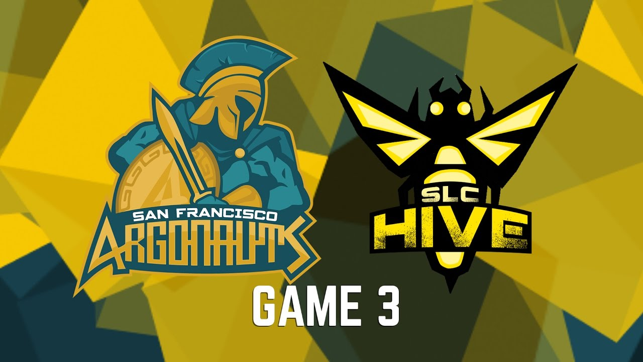 San Francisco Argonauts Vs Salt Lake City Hive Game 3 Youtube