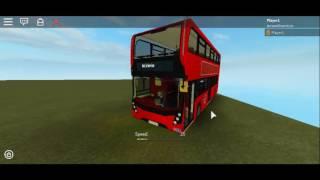 Roblox 3 Enviro 400 MMC London Buses Showcase