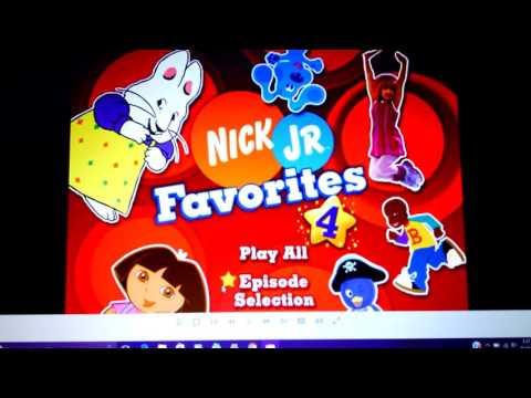 Nick Jr Favorites Sleepytime Stories Dvd