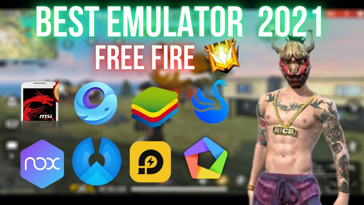 Which is the Best Emulator For Free Fire in 2021 - Garena Free Fire - YouTube