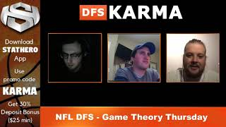 NFL DFS Picks Week 13 - Game Theory Thursday