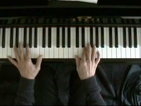 Learn blues piano lesson 1
