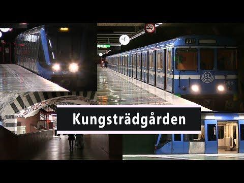 Station Kungsträdgården Stockholms Tunnelbanan 2013