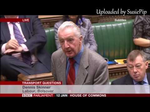 Dennis Skinner- 12.01.2017 Transport Questions