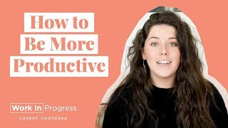 How to Be More Productive at Work (The Best Productivity Hack for Improving Productivity at Work)