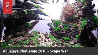Aquajaya Challenge 2018 - Scape War (Full Tank Shot Video)