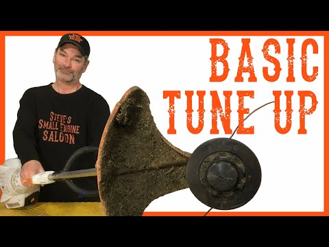 How To Do a Basic Tune Up on a Stihl WeedEater  Video