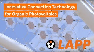 Innovative Connection Technology for organic photovoltaics