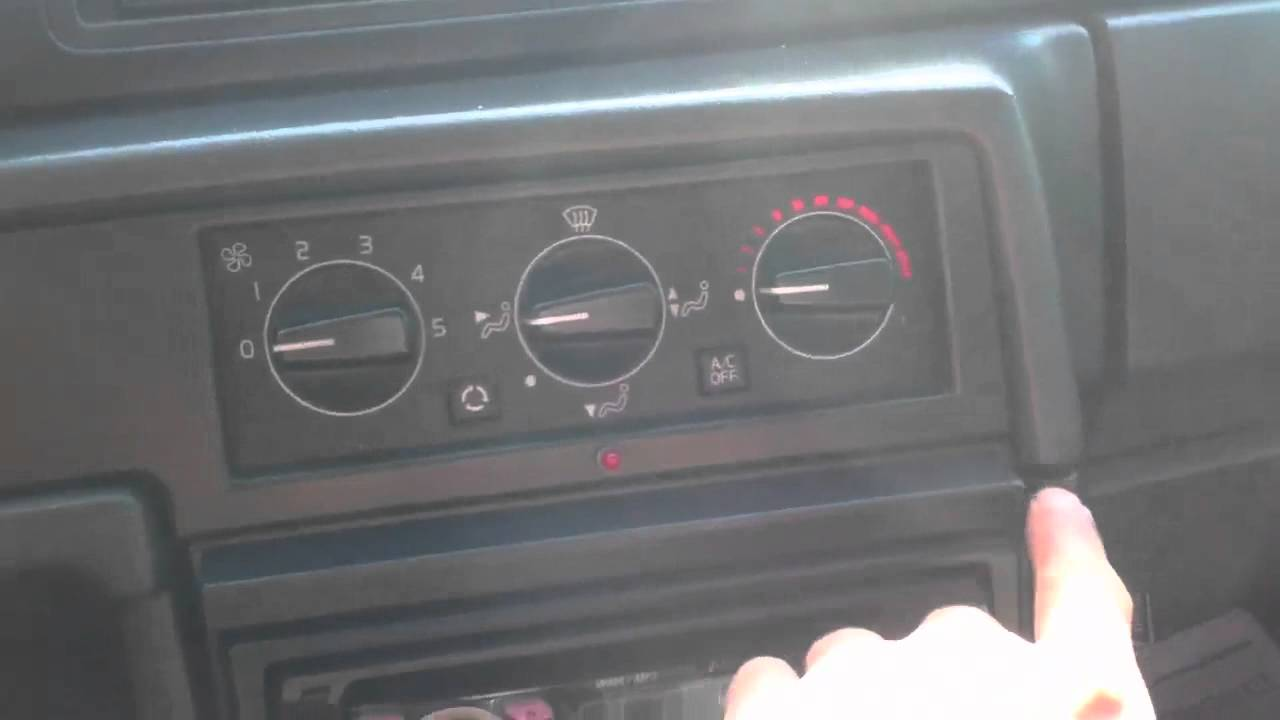 1992 Volvo 940 Pioneer Car Stereo upgrade ipod cd player Al & Ed's Los Angeles - YouTube