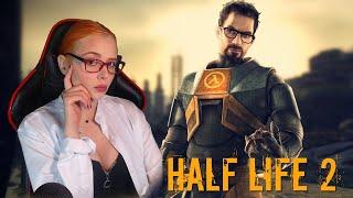 Обзор игры Half Life 2 прохождение #2 Сложность Хард Hard
