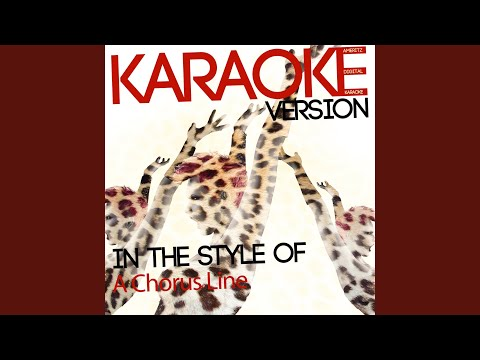 What I Did For Love (Karaoke Version)