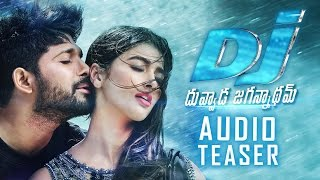 Dj duvvada jagannadham audio teaser | allu arjun | pooja hegde | fan made | tfpc