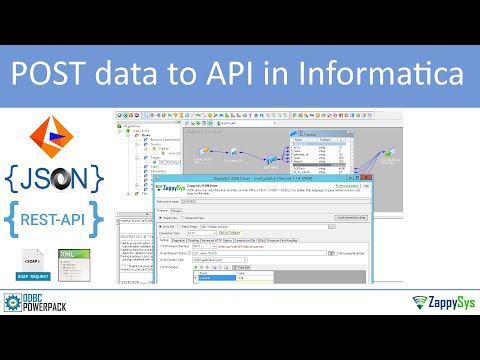 Informatica - POST Data To REST API / SOAP Web Service (Upload XML / JSON File To HTTP URL)