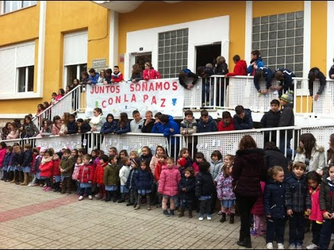 D a de la paz colegio victoria d ez teruel 2016 youtube - Colegio aparejadores teruel ...