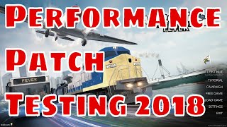 Transport Fever - Performance Patch 2018 Testing