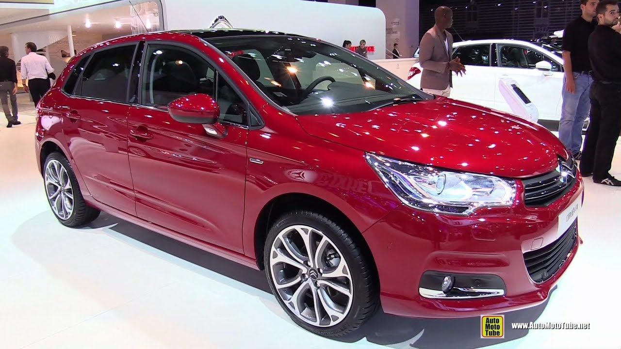 2015 citroen c4 exterior and interior walkaround 2014 paris auto show youtube. Black Bedroom Furniture Sets. Home Design Ideas