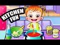Baby Hazel in Kitchen | Fun Game Videos By Baby Hazel Games