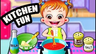 Baby Hazel in Kitchen | Fun Game Videos By Baby Hazel Games
