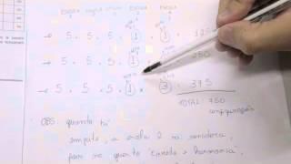 CHROMOS GABARITO ENEM 2015 - Matheus Brito - Matemática - Questão 142 - Prova Amarela