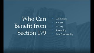 IRS Section 179 Deduction Explained - Commercial Capital Company
