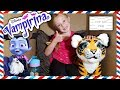 I Mailed Myself in a Box to Vampirina from Disney Junior with FurReal Tiger! OMG IT WORKED!! (Skit)