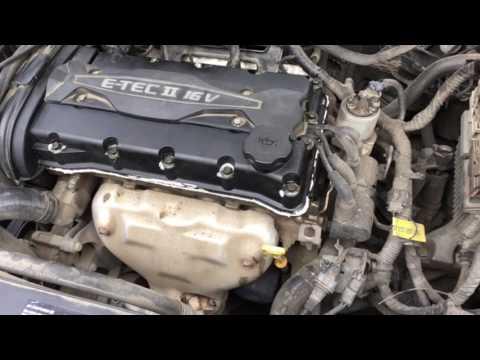 Замена прокладки клапанной крышки в Шевроле Круз / Chevrolet Cruze