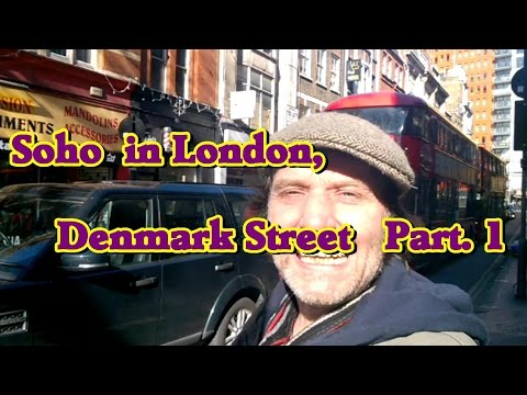 London's Denmark St.-  Part 1. Browsing the S/H Guitars, Amps and more.