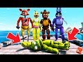 WHO KILLED ADVENTURE SPRINTRAP? ANIMATRONIC MYSTERY! (GTA 5 Mods For Kids FNAF RedHatter)