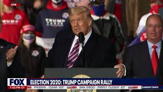 SUPREME COURT NOMINATIONS: President Trump Mentions Significance of Judges During MN Rally