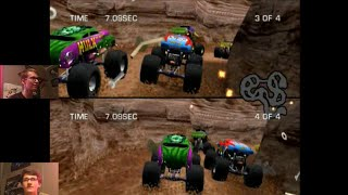 Monster Jam: Maximum Destruction - Spiderman VS. The Incredible Hulk - Mini-Games
