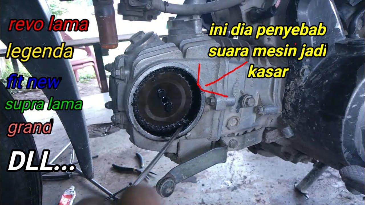Download MESIN MOTOR REVO TERDENGAR KASAR INI PENYEBABNYA