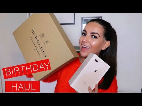 What I Got For My Birthday 2017 | Nicole Corrales