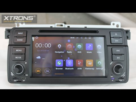 Xtrons PF7546BA | Android 5.1 Lollipop Driving Entertainment System