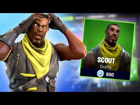Fortnite Wants This To Be The New Default Skin...