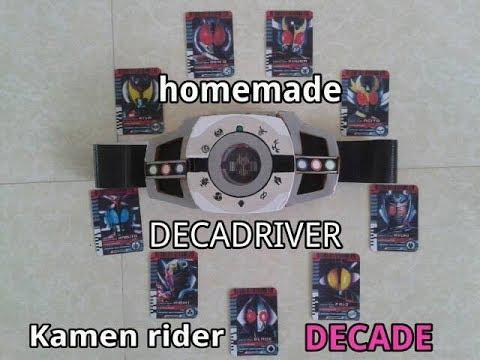 Download 自家製ディケイドライバー - homemade DECADRIVER (ver2) - kamen rider DECADE - 仮面ライダーディケイド