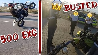 Von Polizei gestoppt! | KTM EXC 500 Probefahrt!